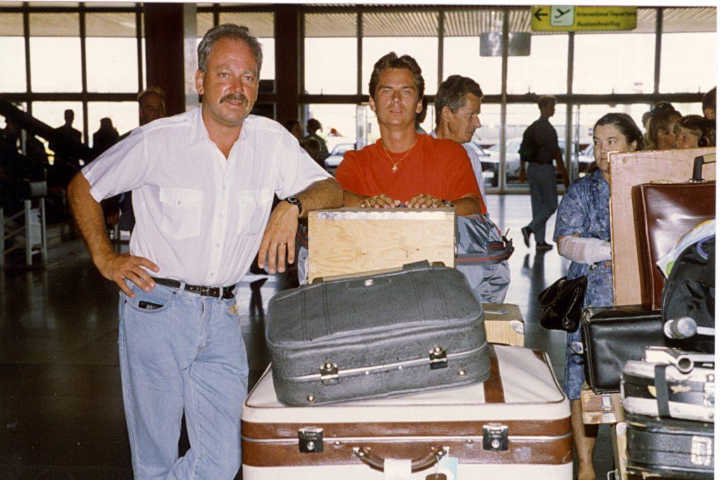 Nyss anlända til Palmas flygplats på Gran Canaria